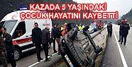 Kahramanmaraş'ta trafik kazası: 1 ölü...