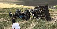 Kahramanmaraş'ta traktörün altında