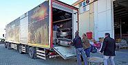 Kahramanmaraş'tan depremzedelere yardım