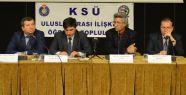 """KSÜ'DE 'ARAP BAHARI VE SURİYE"""" PANELİ"""