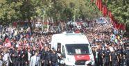 ŞEHİT POLİS MEMURU HAKAN AKDERE SON YOLCULUĞUNA