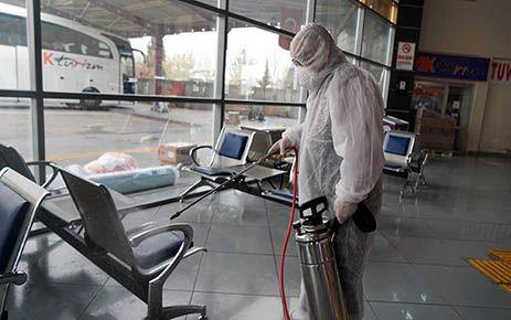 Toplu taşımada dezenfekte