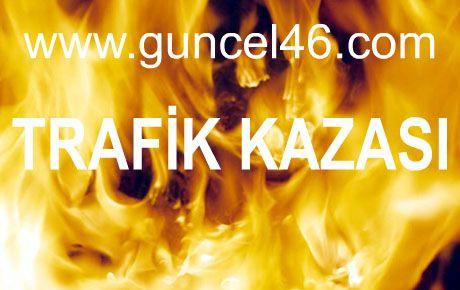 TRAFİK KAZASI: 1 ÖLÜ, 1 YARALI