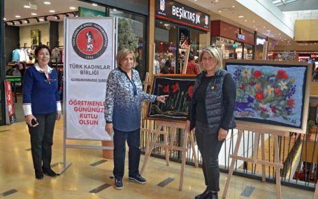TÜRK KADINLAR BİRLİĞİ'NDEN PİAZZA'DA ANLAMLI SERGİ