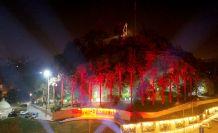 Kahramanmaraş Kalesinde ışık gösterisi
