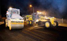 Dulkadiroğlu Belediyesi asfalt çalışması