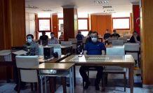 Kütüphane çalışanlarına eğitim