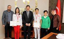Türkiye Wushu şampiyonasında iki madalya