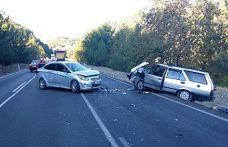 Kablo hırsızları trafik kazasında yakalandı