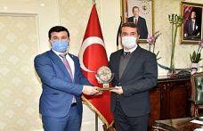 Eliaçık'tan Başkan Okumuş'a ziyaret etti