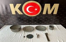 Kahramanmaraş'ta tarihi eser operasyonu