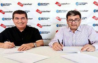 Hascevher, 11 MW'lik dev GES yatırımı için Generalsolar...
