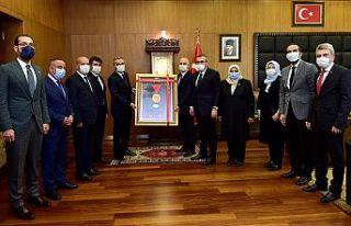 Ulaştırma ve Altyapı Bakanı Karaismailoğlu Kahramanmaraş'ta
