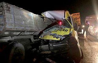 Alkollü sürücü kaza yaptı: 1 ölü 1 yaralı