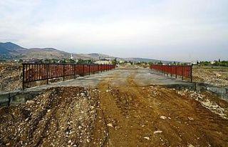 Deliçay Köprü çalışmaları tamamlandı