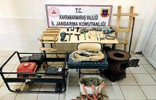 Kaçak kazı yapanlara operasyon