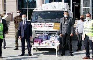 Türkoğlu'dan İzmir'e yardım