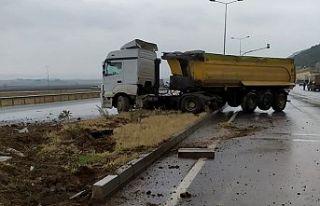 Kahramanmaraş'ta tır kazası