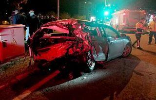 Zincirleme trafik kaza: 1 ölü 3 yaralı