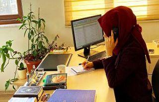 Büyükşehir'in psikolog desteği devam ediyor
