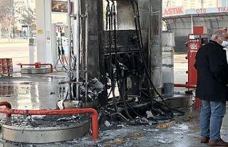 Kahramanmaraş'ta akaryakıt istasyonunda yangın