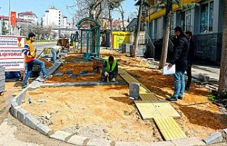 Büyükşehir'den Pazarcık'a üstyapı çalışması