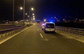 Kaçan sürücüler polisi alarma geçirdi