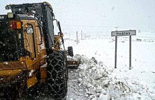 Karla mücadele çalışması