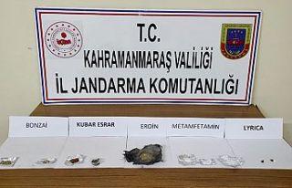 Pazarcık'ta uyuşturucu operasyonları