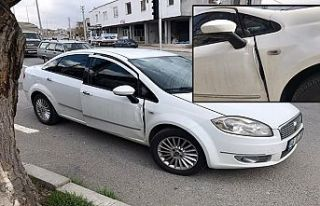Polis aracına çarparak kaçan hırsız yakalandı