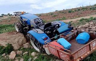 Traktörün devrilmesi sonucu 1 kişi öldü