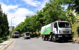 Dulkadiroğlu belediyesinden bayram temizliği