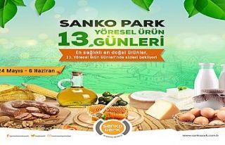 Sanko Parkyöresel ürün günleri başladı