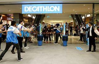 Decathlon, 40'ıncı mağazasını Sanko Park'ta...