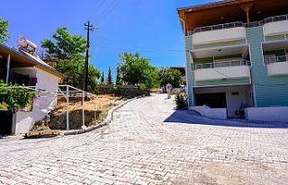 Dereli ve Çokyaşar'a kilit parke