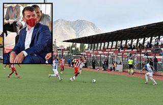 Kazanan Türkoğlu Belediyespor oldu