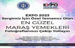 EXPO 2023 Sergisi için Maraş Yöresel Yemekleri...