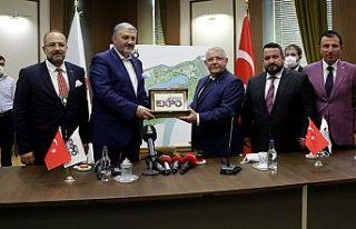 Mahçiçek, MÜSİAD Genel Kaan'a EXPO 2023 projesini...