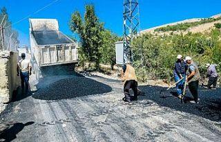 Pınarbaşı Kandıl bölgesine asfalt
