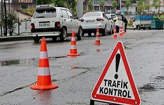 Trafik kurallarını ihlal edenlere ceza