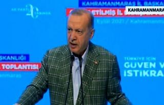 """Erdoğan, """"Sizlerin fikirleri, tespitleri bizim..."""