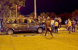 Kahramanmaraş'ta trafik kazası: 13 yaralı