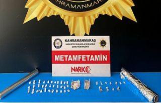 Kahramanmaraş'ta uyuşturucu satıcı 3 kişi tutuklandı