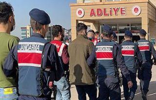Terör operasyonunda yakalanan 5 kişi tutuklandı
