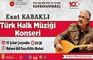 Esat Kabaklı konseri ertelendi