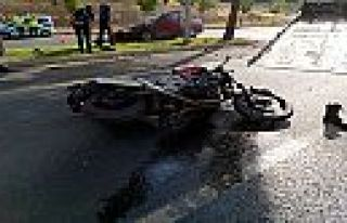 Göreve giden polis trafik kazasında öldü