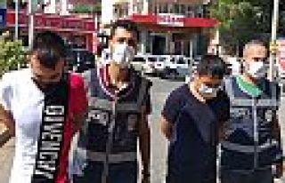 Kahramanmaraş'ta 2 hırsız tutuklandı