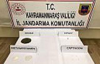 Kahramanmaraş'ta 3 ayrı uyuşturucu operasyonu...
