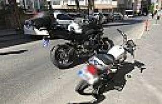 Kahramanmaraş'ta ehliyetsiz genç motosikleti yakmak...