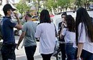 Kahramanmaraş'ta maske takmayana ceza